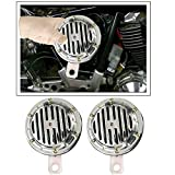 #7: Vheelocityin 2Pc Twin Tone Car Horn with 6 Months Warranty