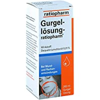 Gurgellösung-ratiopharm Lösung, 200 ml preisvergleich bei billige-tabletten.eu