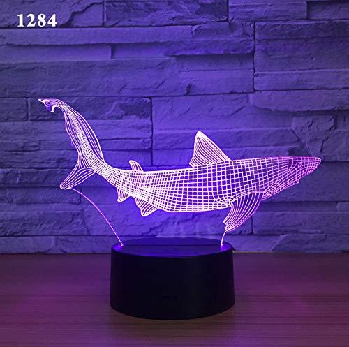 Kleines Licht der Nacht 3d führte intelligentes Haupttischlampe usb-Nachtlicht
