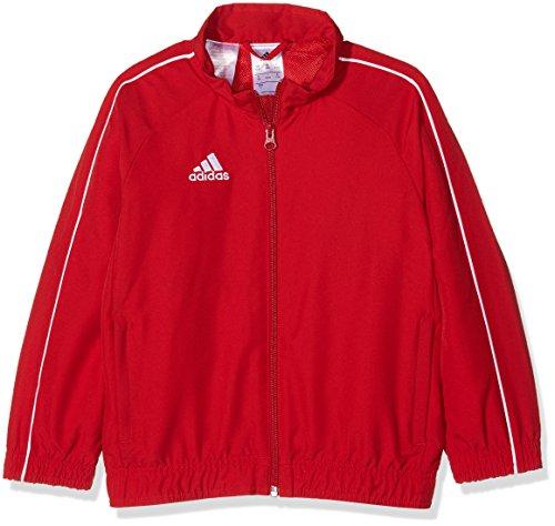 adidas CV3689 Chaqueta, Unisex Niños, Rojo (Rojo/Blanco), 116 (5/6 Años)