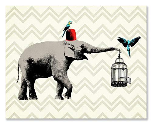 ive fezzes sind Cool durch WP House Leinwand Wandbild Art, 30von 24 ()