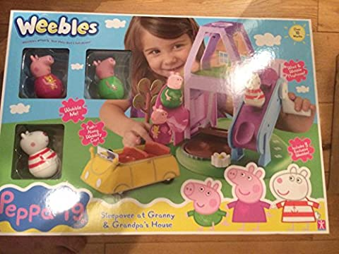 Peppa Pig Weebles Maison de grand-mère et grand-père Ensemble