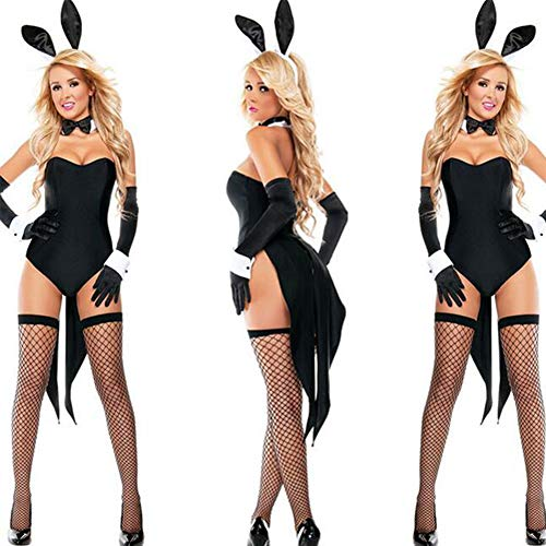 Girl Kostüm Bunny Halloween - Uniformen Bunny Girl Kleid Cosplay Kostüm Party Kostüm Kostüm Kostüm Erwachsene Highschool Frauen Sexy Uniformen Halloween Halloween Karneval Maskerade Festival / Urlaub Spandex Polyester,OneSize
