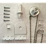 25mm Quality Metal Bracket Upgrade Roller Blind Fittings - Heavy Duty