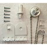 25mm Metal de calidad soporte Upgrade Kit Accesorios Repuesto Para Estor blanco Heavy Duty