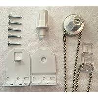 Furnished 25mm Metal de calidad soporte Upgrade Kit Accesorios Repuesto Para Estor blanco Heavy Duty
