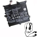 amsahr L14M2P22-03 Ersatz Batterie für Lenovo 5B10H09630, 5B10H09632 (7.4V, 32Wh) Umfassen Stereo Ohrhörer schwarz