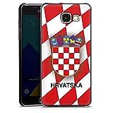DeinDesign Samsung Galaxy A5 (2016) Hülle Case Handyhülle Kroatien Em Trikot Football Fussball
