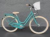"28"" Zoll Alu MIFA Fahrrad Damen City Bike Shimano Nexus 7 Gang Nabendynamo"