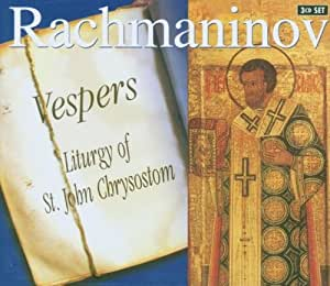 Rachmaninov : Vêpres op. 37 - Liturgie de St Jean Chrysostome op. 31