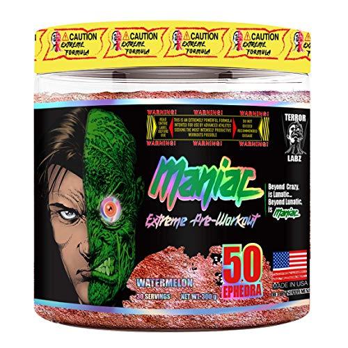 Terror Labz Maniac, Extreme Pre-Workout (Watermelon)