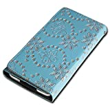 Rhinestone Flip Book-Style Flip Mobile Phone Case