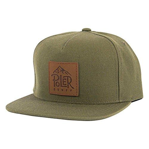 Für Männer Patagonia-trucker-hüte (POLER Cap Lifty Snapback Kappe, Burnt Olive, One Size)
