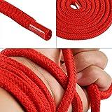 DULEXO Red Bondage Rope 10 Meter Set aus 3 Baumwollseilen für Sexspiele