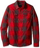 KAVU Herren Lorenzo Button-Down Shirt Größe L Lumberjack