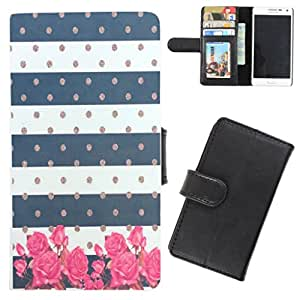DooDa - For Karbonn A1 Star PU Leather Designer Fashionable Fancy Flip Case Cover Pouch With Card, ID & Cash Slots And Smooth Inner Velvet With Strong Magnetic Lock