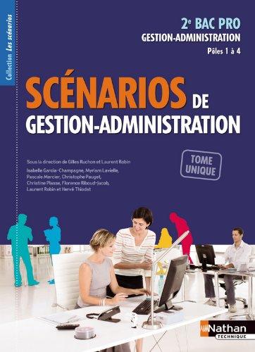 Scénarios de gestion-administration - 2e Bac Pro