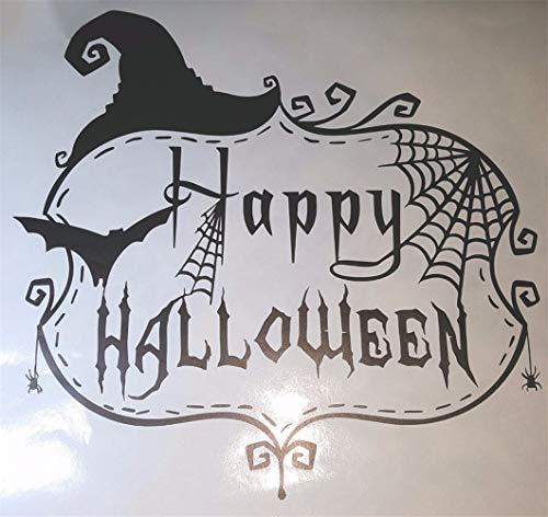 Wandaufkleber Kinderzimmer Wandtattoo Schlafzimmer Halloween-Überraschungs-glücklicher Feiertags-Wohnzimmer-Papier-Aufkleber-modernes Festival
