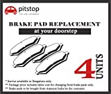 #7: Pitstop Brake Pads Replacement at Doorstep for all cars
