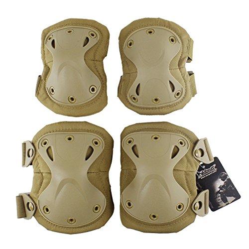 Outdoor Kneepad Ellenbogen Taktische Militär Jagd Erwachsene Ultra-Sicherheits-Schutz-Schutz-Durable Gear CS Field Equipment