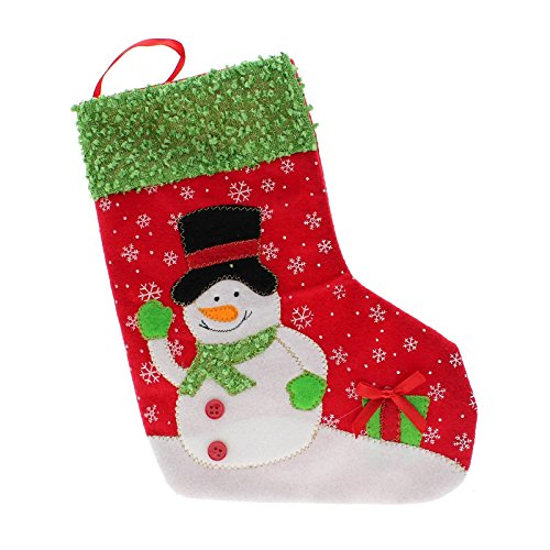 GGG 2015 Weihnachten Schneemann Party Geschenk Süßigkeit-Beutel hängend Strumpf Socke Beutel