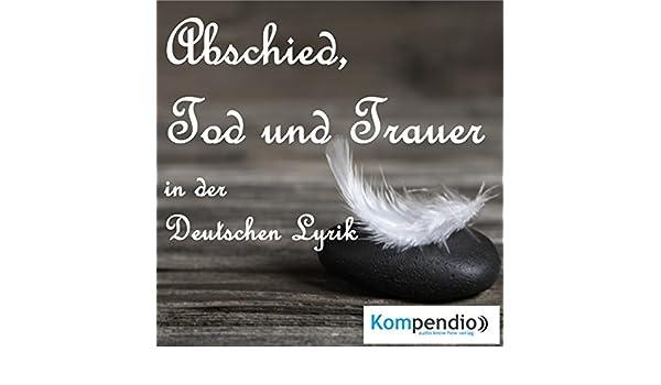 Abschied Tod Und Trauer Audio Download Amazonin Johann
