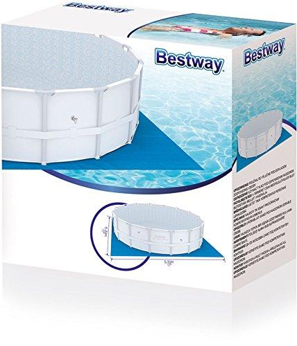 Bestway telo base per piscina con telaio fuori terra - Teli per piscine fuori terra ...