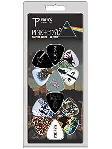Perri's Guitar - Picks 12 Pack of Pink Floyd Pink Floyd