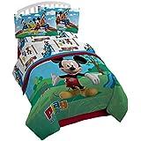 Amigos de Mickey Mouse 3 piezas Juego de cama individual (funda de edredón incluye sin)