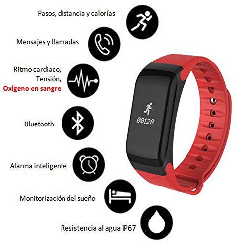 Zoom IMG-1 orologio braccialetto di attivit per