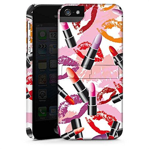 Apple iPhone 6 Housse Outdoor Étui militaire Coque Rouge à lèvres Motif Motif CasStandup blanc