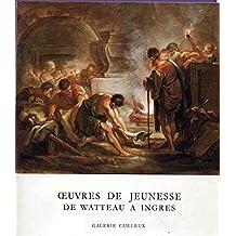 Oeuvres de jeunesse, de Watteau à Ingres : Exposition, Galerie Cailleux, Paris... 3 juin - 12 juillet 1985