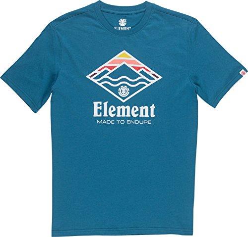 Element Layer Herren T-Shirt - Blue Steel Größe: XL Farbe: Blue Steel -