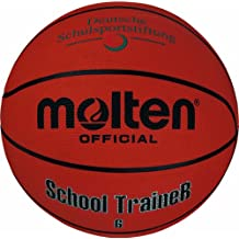 Molten Basketball B6ST, ORANGE, 6