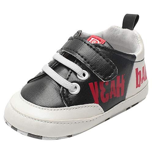 Chaussures Bébé Binggong Infantile Bébé Garçons Enfants Sangles Crib Chaussures Semelle Souple Antidérapant Premières Chaussures De Walker