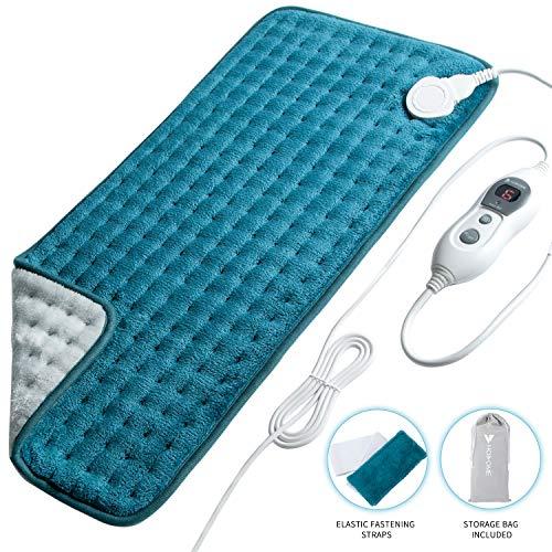 Cuscino Termico Elettrico,termosaldato con 6 livelli di temperatura, riscaldamento rapido,...