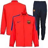 Nike FCB M NK Dry TRK Suit SQD K - Trainingsanzug FC Barcelona Rot - 2XL - Herren