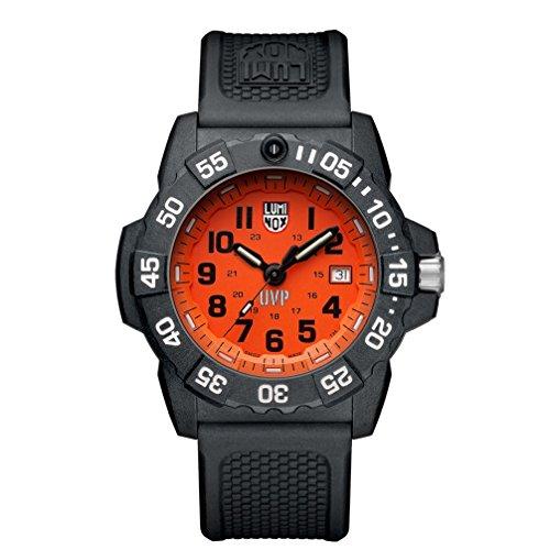Luminox Herren Datum klassisch Quarz Uhr mit PU Armband XS.3509.SC.Set