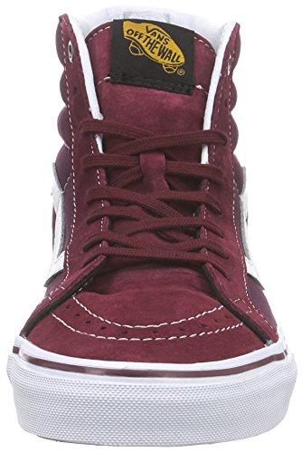 Vans Sk8-Hi Reissue, Sneakers Hautes Mixte Adulte Rouge (Surplus/Port Royale/Port)