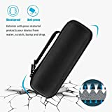 ProCase UE BOOM 2 Case, Hard EVA Case Travel Storage Carrying Pouch Bag for Ultimate Ears UE BOOM 2 Wireless Portable Speaker, Fits USB Cable and Wall Charger/with Holding Strap -Black
