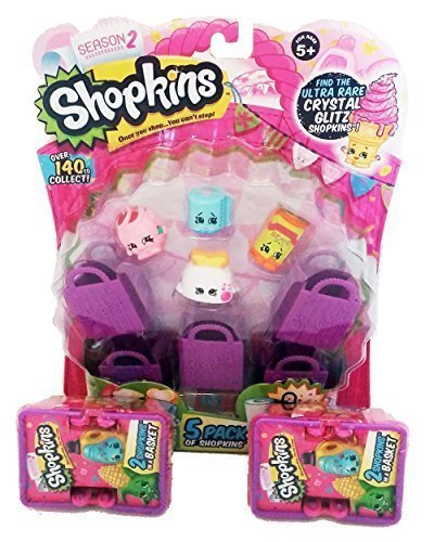 Shopkins Season 2 Bundle: 5 Pack & 2 Baskets