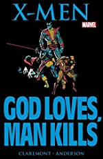 Marvel Graphic Novel #5 - X-Men: God Loves, Man Kills (Marvel Graphic Novel (1982)) (English Edition) de Chris Claremont