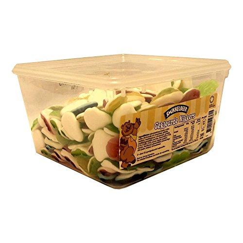 Smikkelbeer Gekleurde Kikkers 300 Stck. Box (farbige Fruchtgummi Frösche)