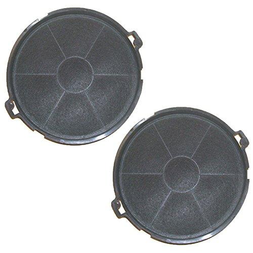 SPARES2GO Tipo IS30GR carbono de carbón para Beko CH60h60px-filtro para campana extractora...