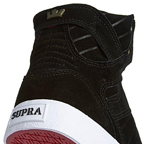 Supra Kids Enfants Skytop Noir Brass Blanc Noir - Schwarz (BLACK/BRASS - WHITE   BKG)