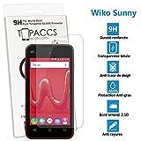 topaccs WIKO SUNNY - Véritable vitre de protection écran en Verre trempé ultra résistante - Protection écran