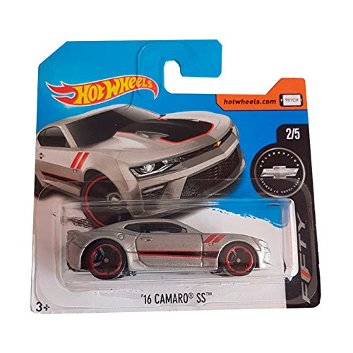 Hot Wheels '16 Camaro SS Gris- Camaro Fifty 2/5