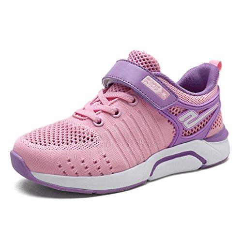 KVbaby Mädchen Ultraleicht Mesh Tennisschuhe Laufen Schuhe Atmungsaktiv Sportschuhe Low-Top Sneakers
