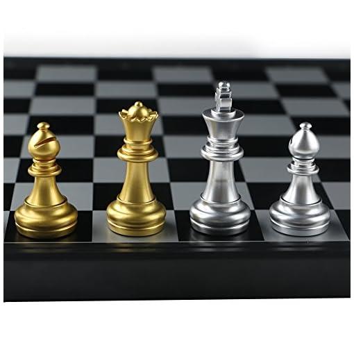 Schachspiel-Magnetisch-Schachbrett-Klappbar-Pdagogisches-Spiel-fr-Kinder-ab-6-Jahren2525cm