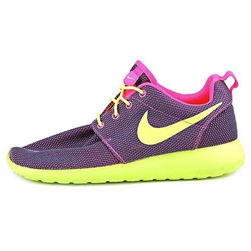 Nike Wmns Rosherun Print, Scarpe sportive, Donna Rosa